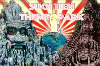 ベトナム・ホーチミンのぶっ飛びテーマパーク『スイティエン公園』